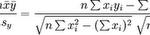 La formule pour les liens