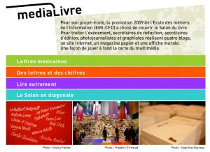 Page d'accueil blogs Medialivre (Emi-Cfd)