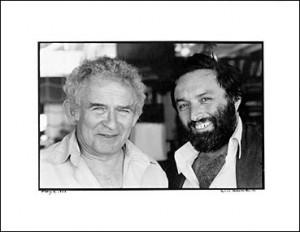 """Norman Mailer et Larry Schiller sans lequel """"cela n'aurait pas été possible d'écrire la seconde moitié du Chant du Bourreau"""""""
