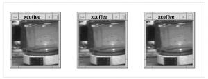 Les premières images prises par une webcam