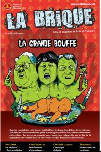 La Une du numéro de décembre 2009 de La Brique
