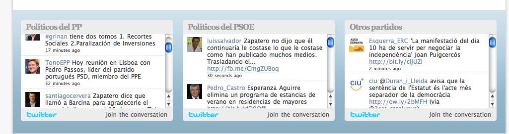 Les 3 fils twitter d'El Mundo