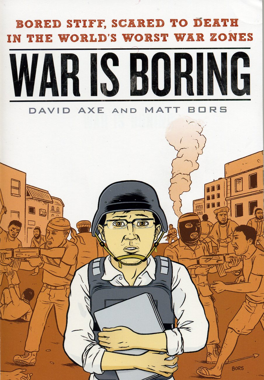 Couverture de War is Boring