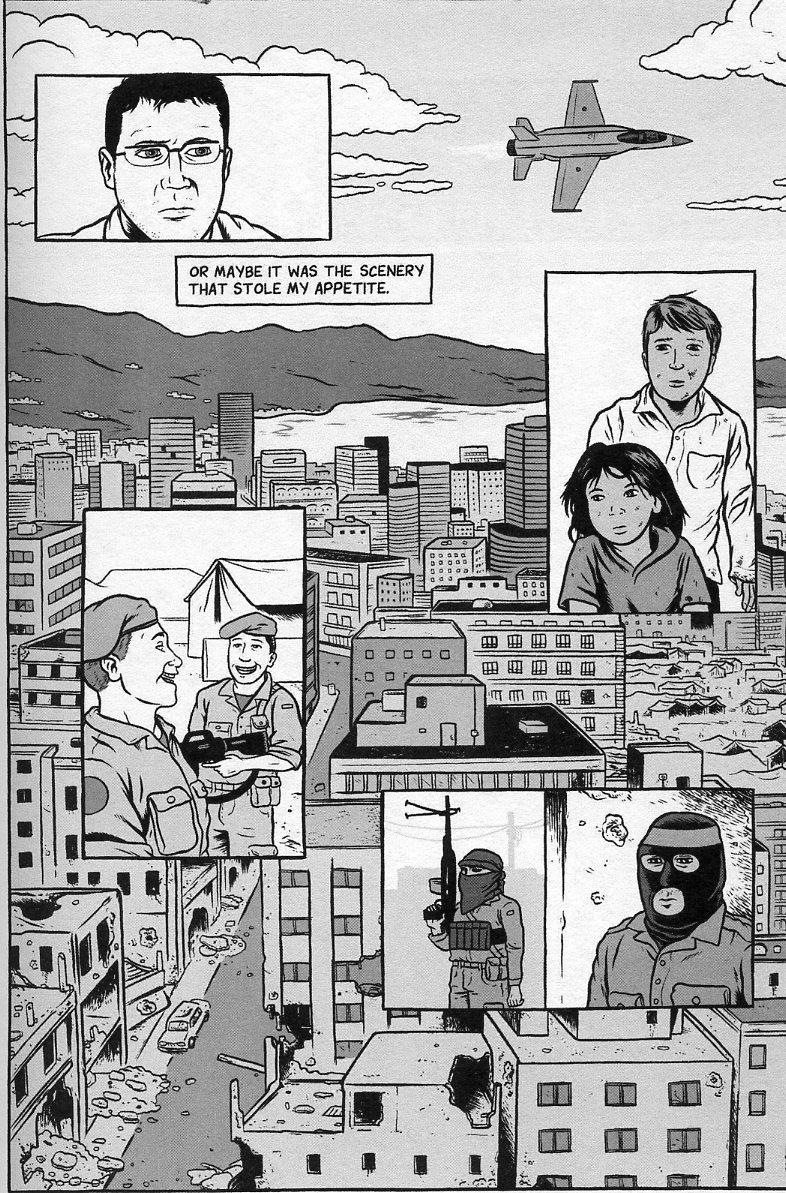 David Axe à Beyrouth
