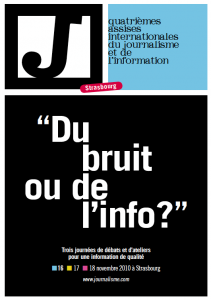 Affiche 4e edition Assises Internationales du Journalisme et de l'Information