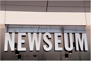 Façade du Newseum à Washington DC