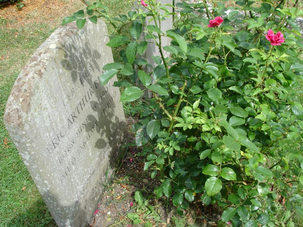 La tombe de Eric Blair - George Orwell