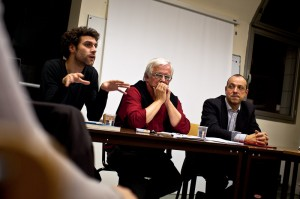 "Matthieu Recarte lors du debat Ca presse! sur ""Journalistes et Google"""