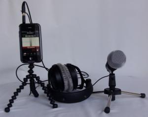 """L'iPhone transformé en studio radio """"portatif"""""""
