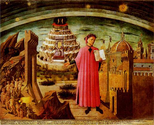 Dante, peint par Domenico di Michelino