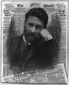 Joseph Pulitzer, alors directeur du New York World et du Saint-Louis Post Dispatch