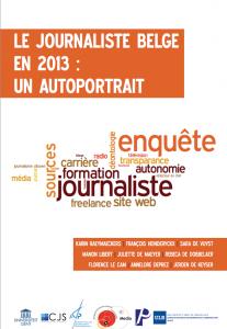Autoportrait du journaliste belge, 2013
