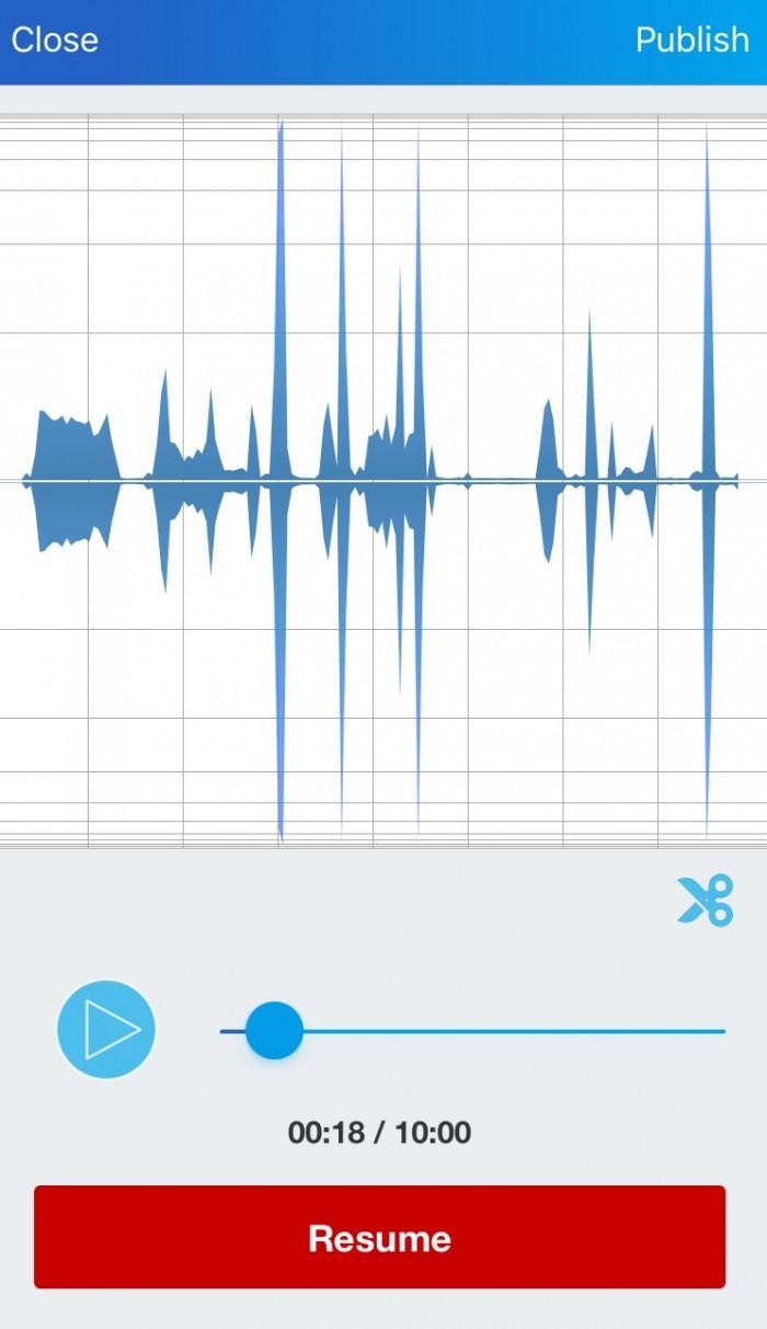 audioboom - montage - trim